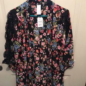 Women's Kimono Cardigan Coverup